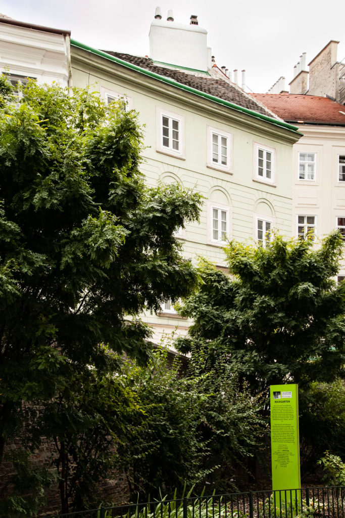 Verde e palazzi storici di Vienna