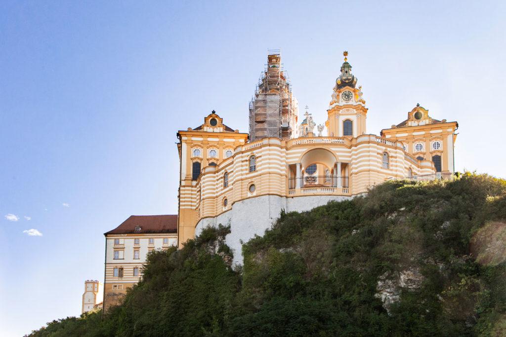 Abbazia Benedettina di Melk - Costruita sulla roccia sopra la città