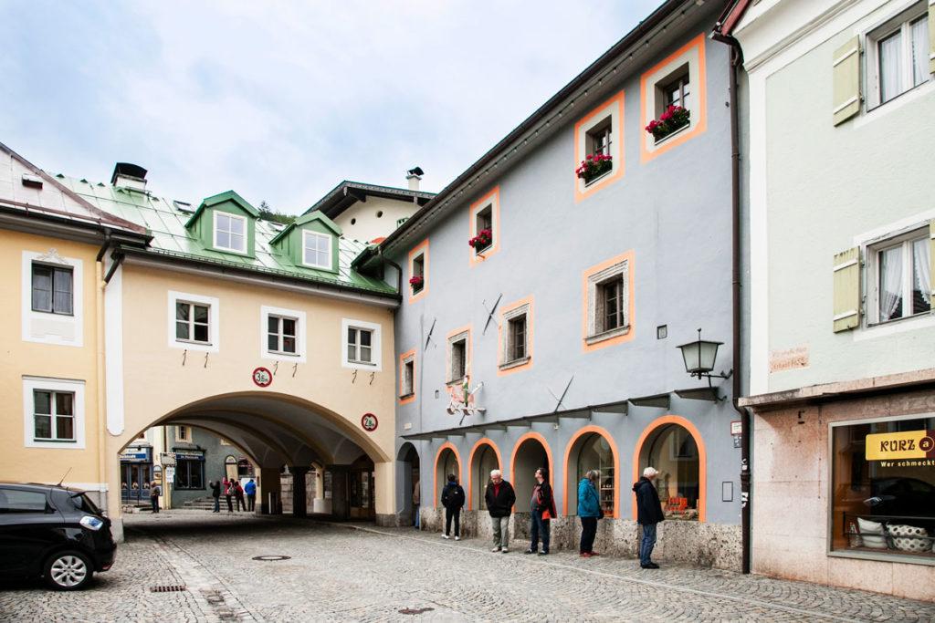 Abitazioni colorate del centro storico