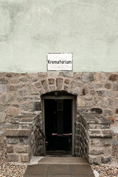 Accesso al Forno Crematorio - Campo di Concentramento di Mauthausen