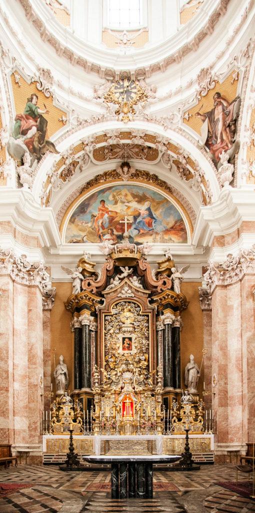 Altare del duomo di Innsbruck