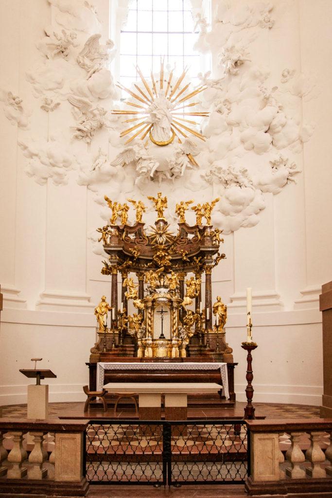 Altare della Kollegienkirche - Salisburgo