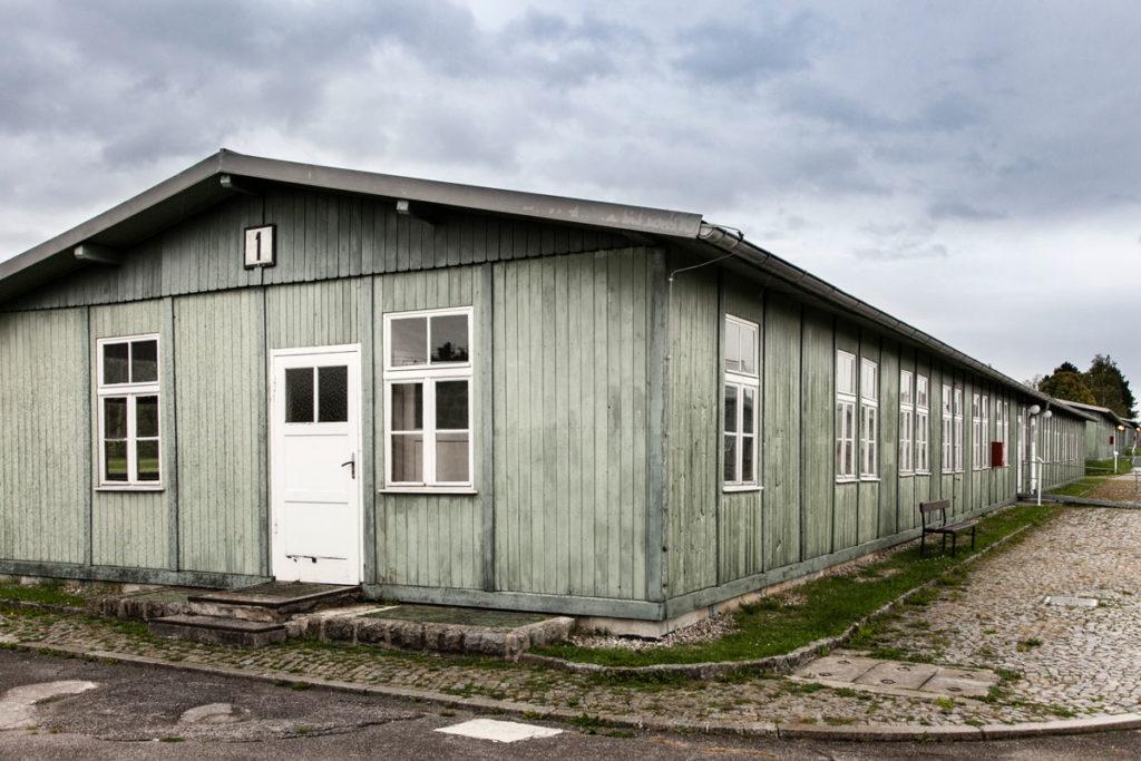 Baracca per prigionieri con capienza di 300 persone