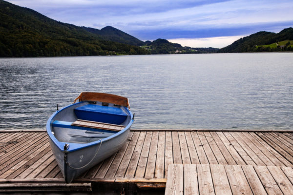 Barca su Fuschl am See - Lago della Red Bull