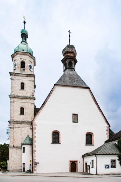 Berchtesgaden - Franziskanerkloster - Chiostro Francescano
