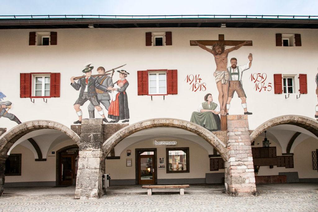 Berchtesgaden - Monumento Commemorativo delle due Guerre Mondiali