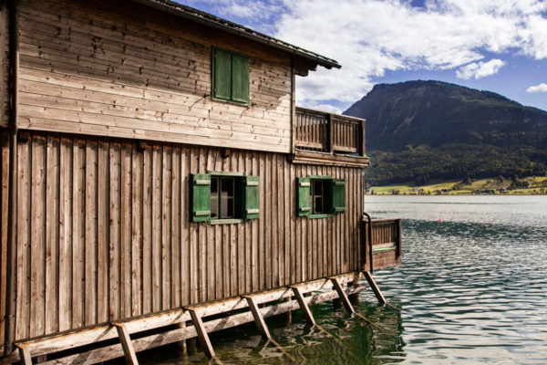 Capanno in Legno sul Wolfgangsee