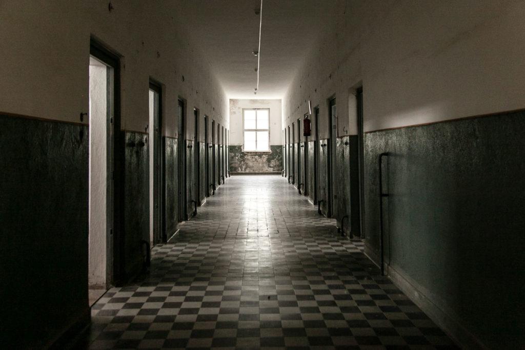 Carcerci del campo di concentramento di Mauthausen - Austria