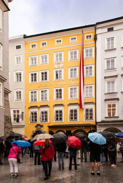 Casa Natale di Mozart - Salisburgo