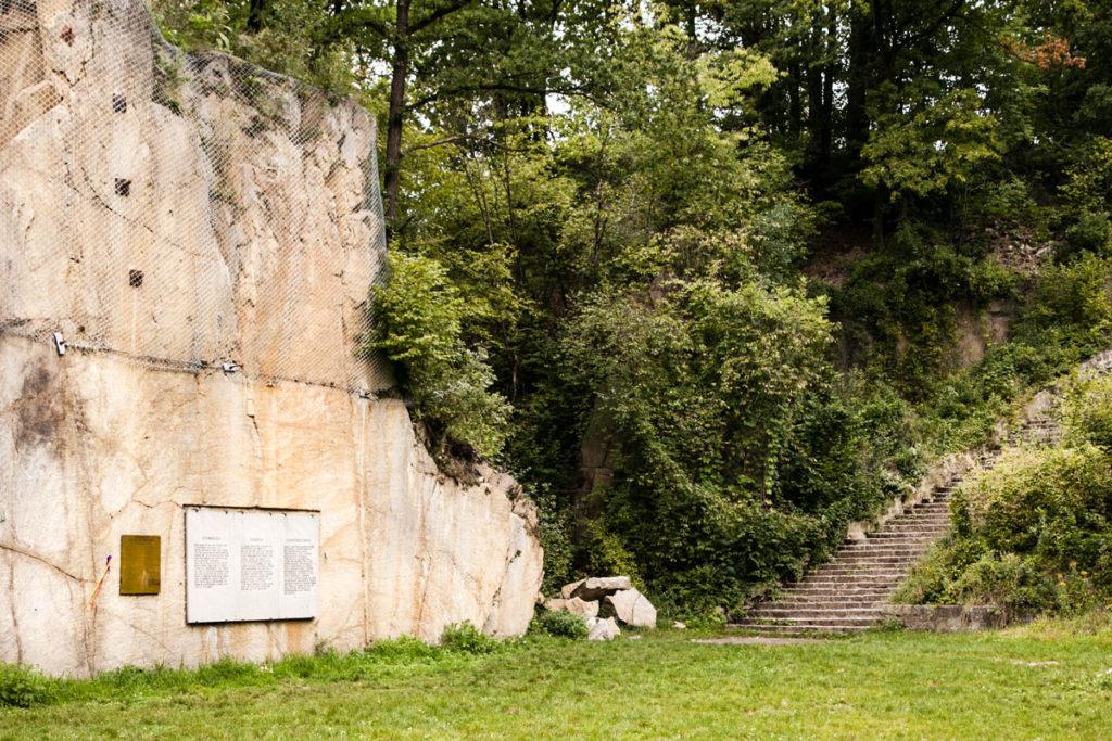 Cava di Wiener Graben - Lavori forzati degli internati a Mauthausen