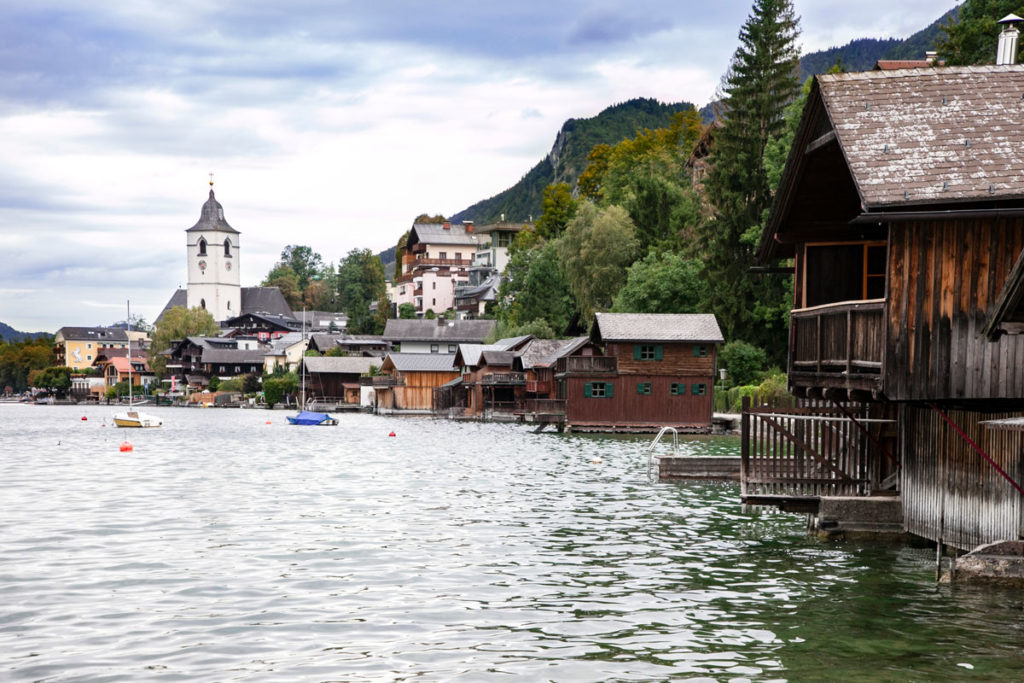 Centro Storico di Sankt Wolfgang dal lago