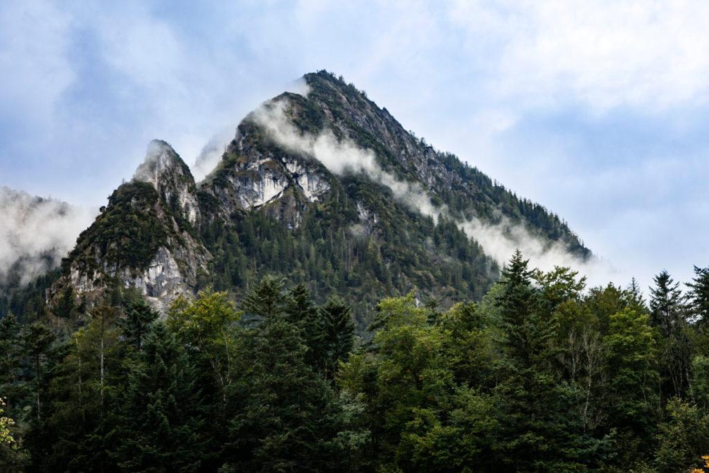 Cime con Nuvole sul Konigssee - Berchtesgaden - Baviera