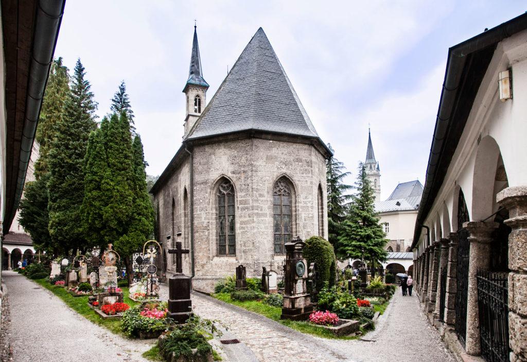 Cimitero della Petersfriedhof - Margarethenkapelle