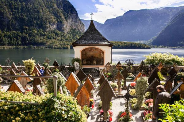 Cimitero della parrocchia cattolica di Hallstatt