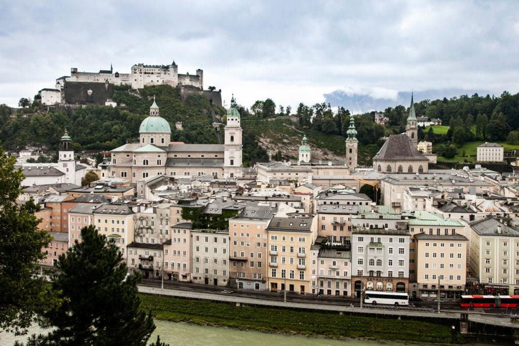 Città Vecchia di Salisburgo e Fortezza dall'Alto
