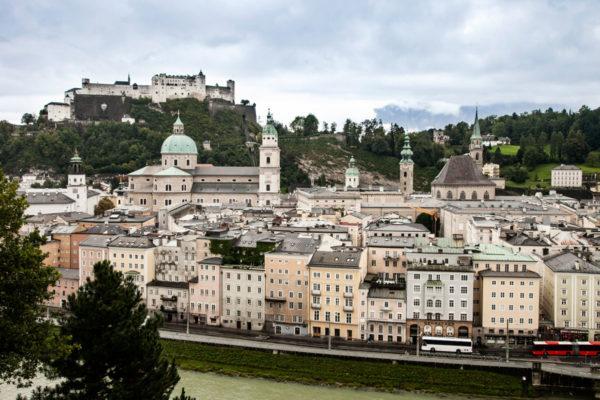 Città Vecchia di Salisburgo e Fortezza dall'Alto - 8 Giorni in Austria Cosa Vedere