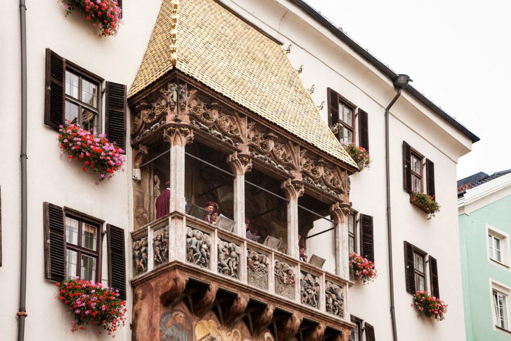 Concerto dal tetto d'oro di Innsbruck
