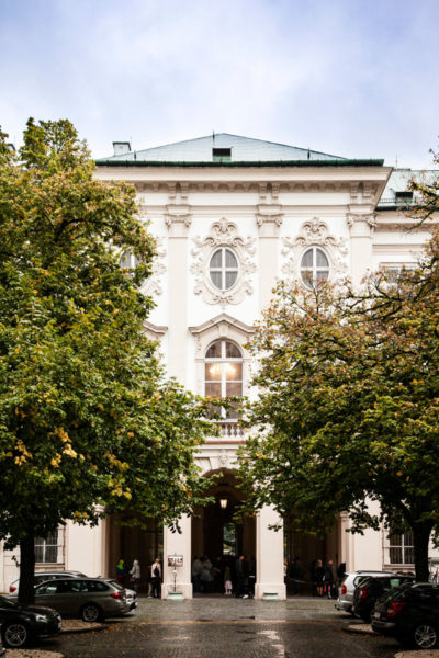 Corte interna palazzo Mirabell - Salisburgo
