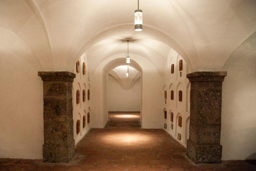 Cripta con Tombe - Chiesa dei Gesuiti