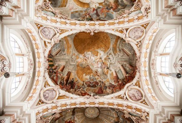 Cuopola del duomo di St Jakob - Innsbruck Austria