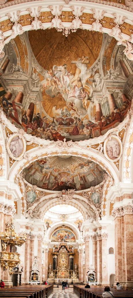 Cupola e Altare del Duomo di St Jakob - Innsbruck Tirolo