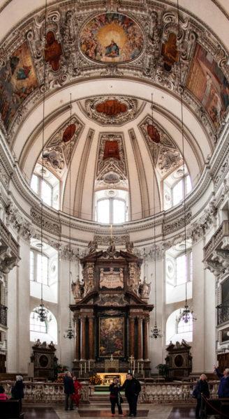 Cupola e Altare duomo di Salisburgo