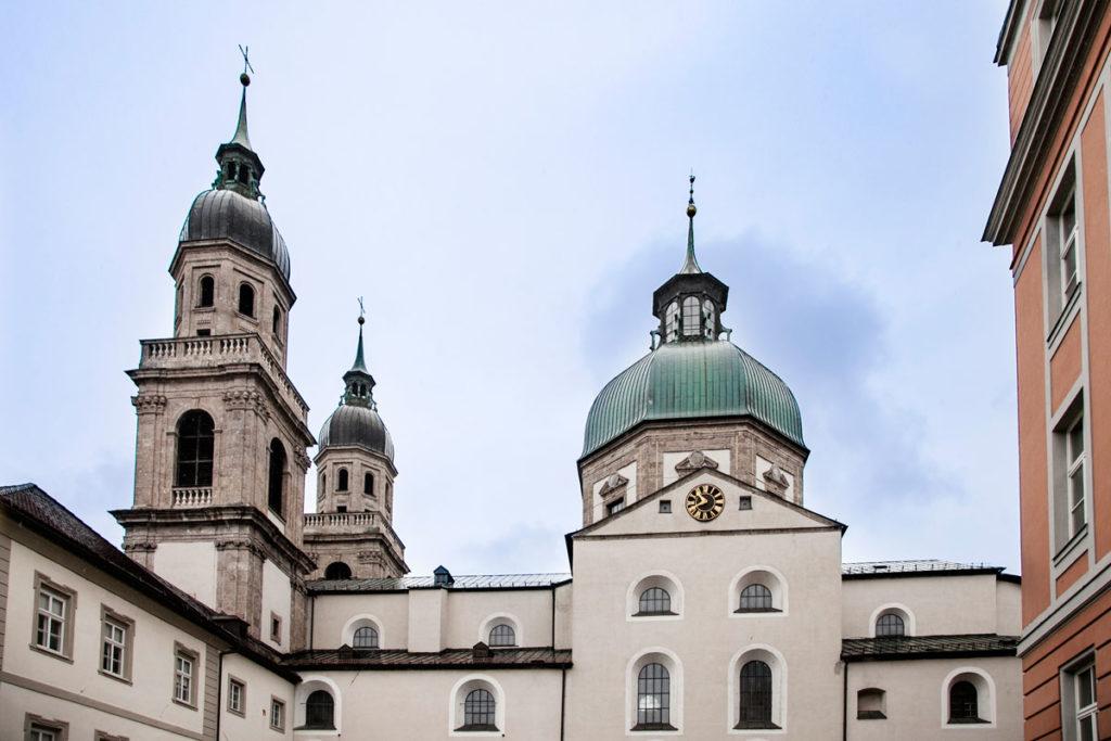 Cupola e torri della Jesuitenkirche - Innsbruck