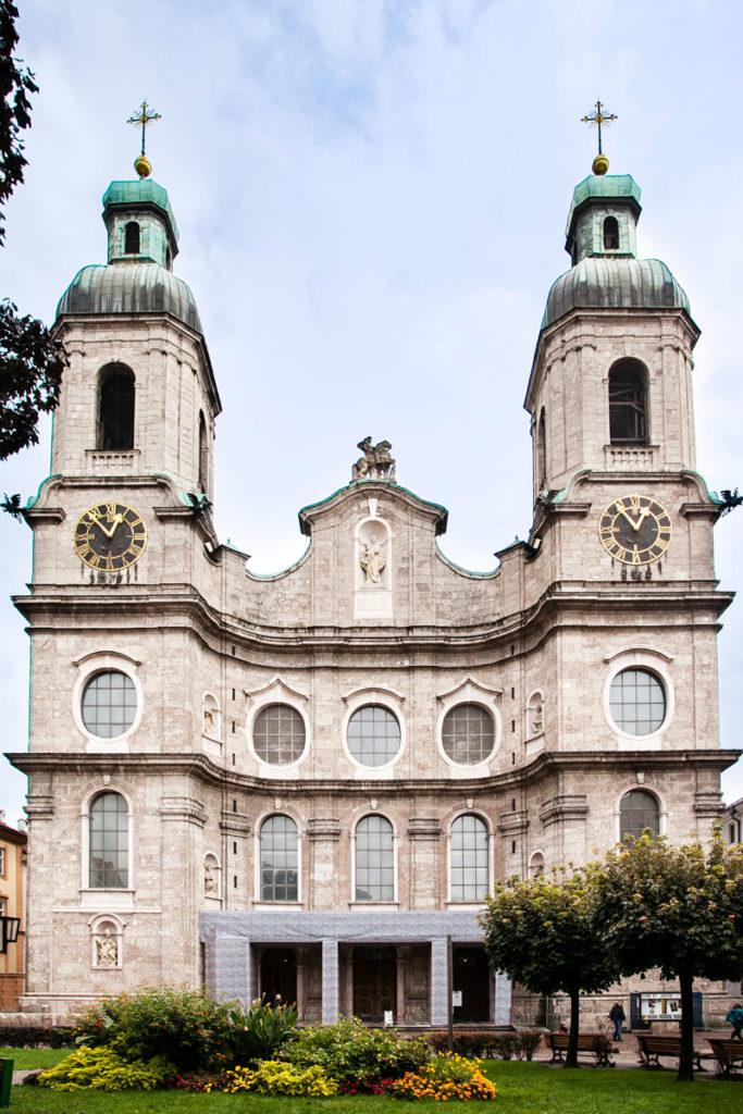 Dom St Jakob - Facciata duomo di Innsbruck