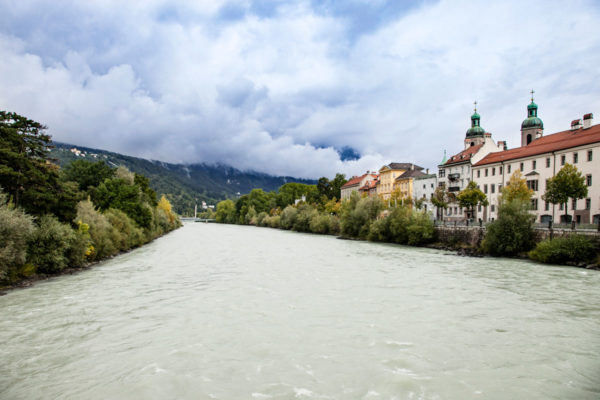 Fiume Inn - Tirolo - Viaggio in Austria