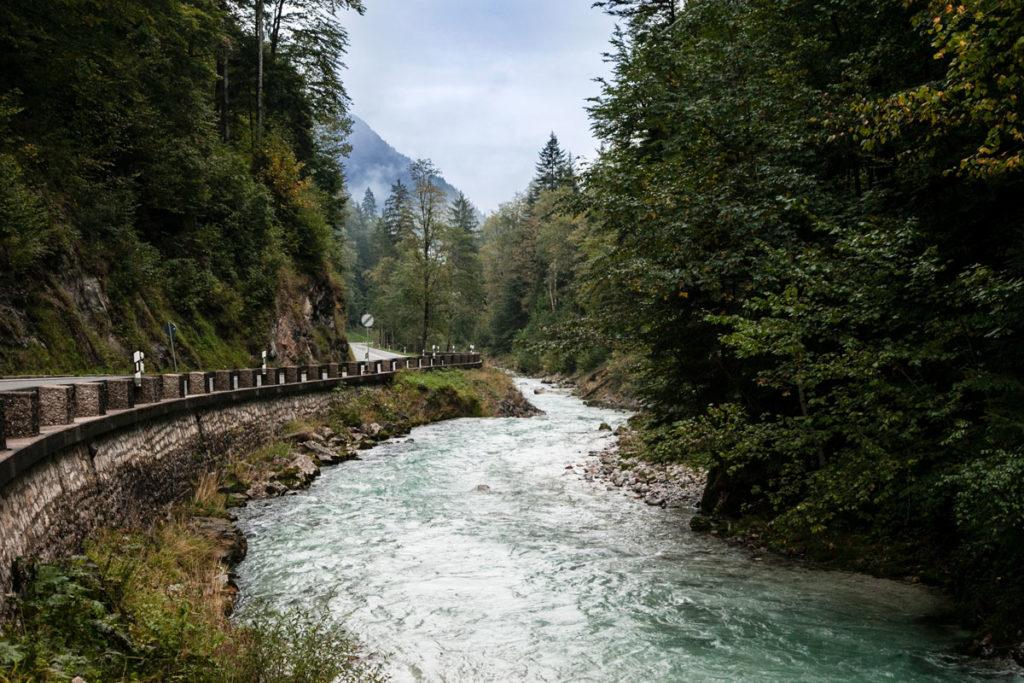 Fiume lungo la Strada per Innsbruck - Tra Germania e Austria