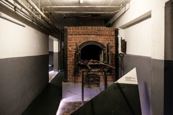 Forno Crematorio del Campo di Concentramento di Mauthausen - Deportazione Ebrei