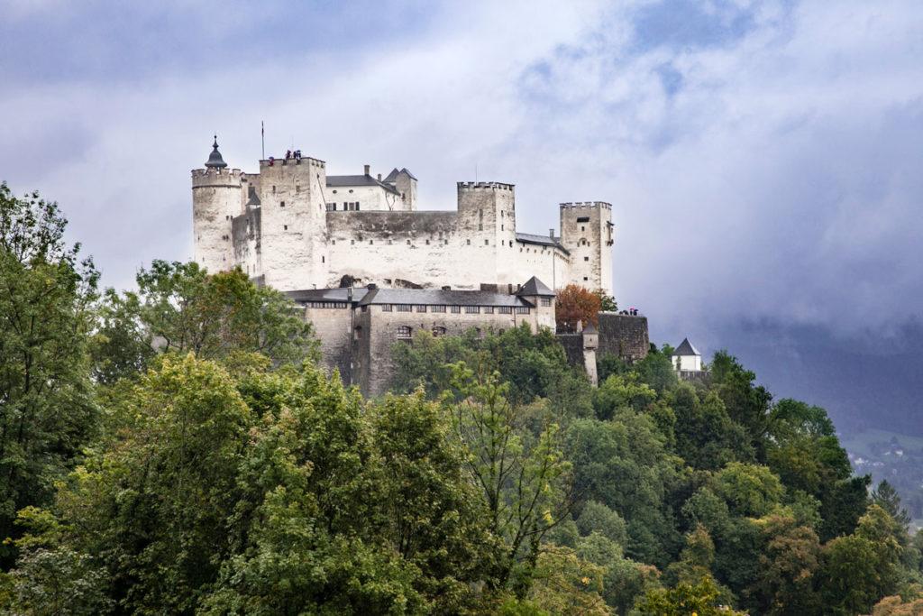 Fortezza Hohensalzburg - Sopra il centro storico di Salisburgo