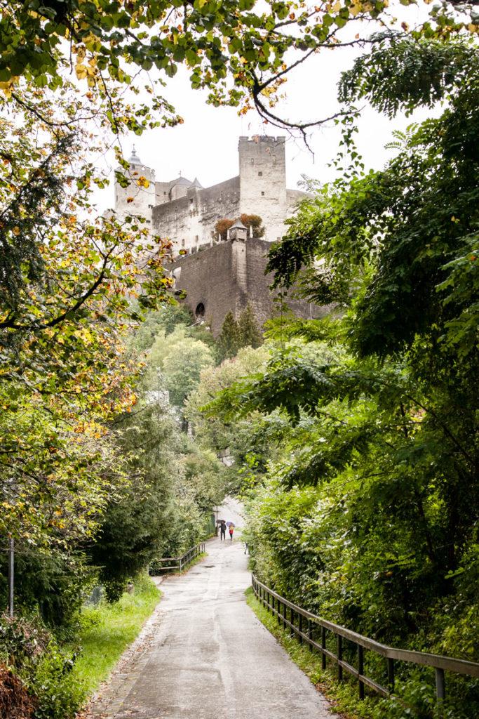 Fortezza di Salisburgo - Tra la natura austriaca