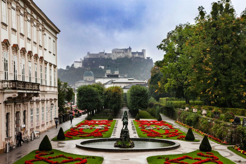 Giardini Palazzo Mirabell e Fortezza di Hohensalzburg