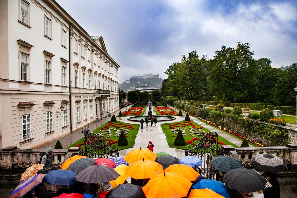 Giardini dello Schloss Mirabell - Salisburgo