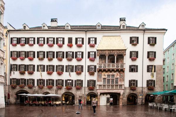 Goldenes Dachl - Tetto d'Oro di Innsbruck