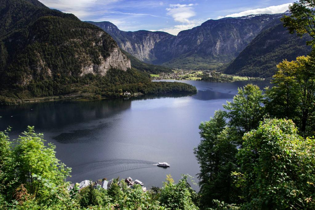 Hallstatt See - Panorama sul lago patrimonio UNESCO