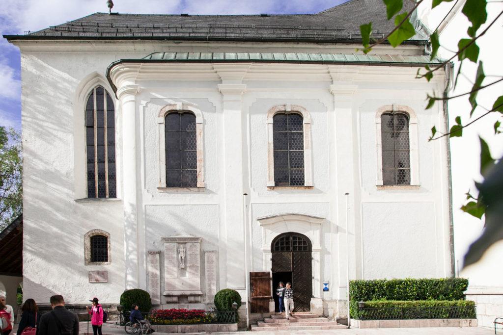 Ingresso alla Pfarrkirche
