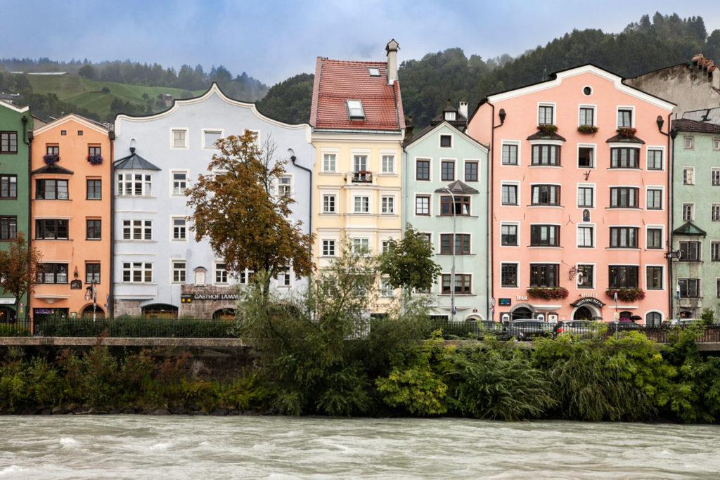 Innsbruck - Case sul Fiume Inn