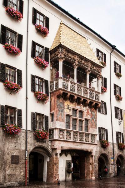 Innsbruck - Goldenes Dachl - Tettuccio d'Oro - Cosa Vedere nel Tirolo - Austria