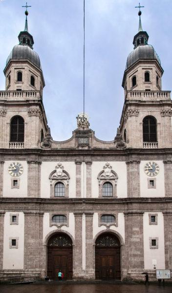 Jesuitenkirche - Portale di Accesso - Innsbruck