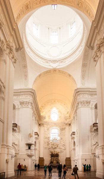 Kollegienkirche - Cupola Interna
