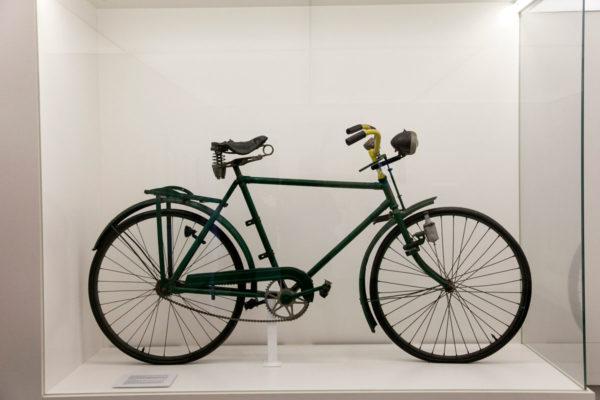 Krankenrevier - Baracca Infermeria - Attuale Mostra - Bicicletta usata nel campo