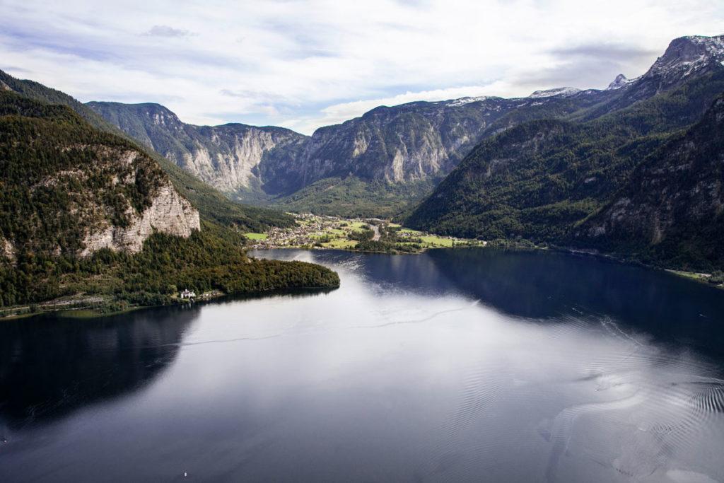 Lago Hallstatt See - Centro dell'Austria