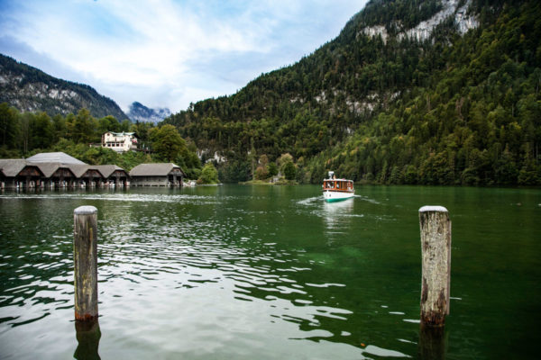 Lago Konigssee - Germania al Confine con Austria - Baviera