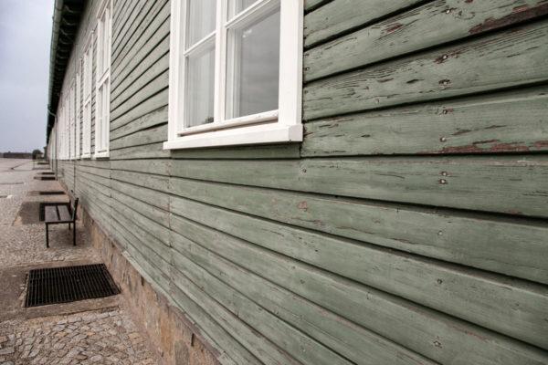 Le assi verdi delle baracche del Lagher