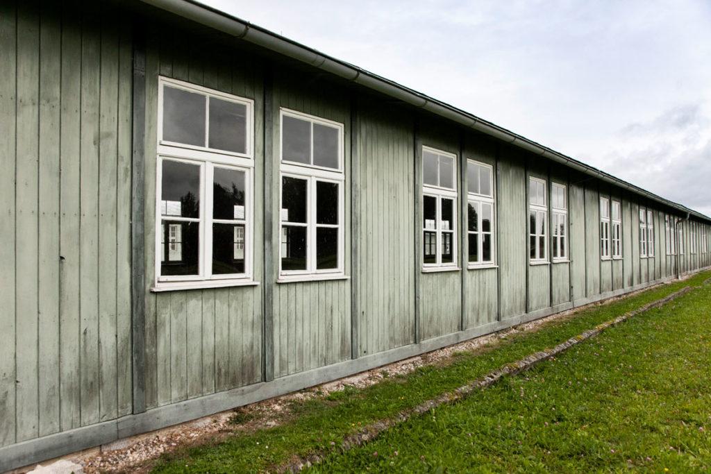 Le baracche rimaste in piedi di Mauthausen