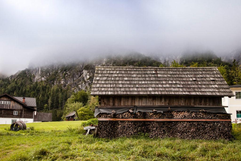 Legnaia nella montagna austriaca