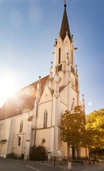 Maria Himmelfahrt Kirche - Facciata