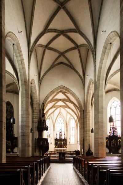 Maria Himmelfahrt Kirche - Melk- Interni Chiesa